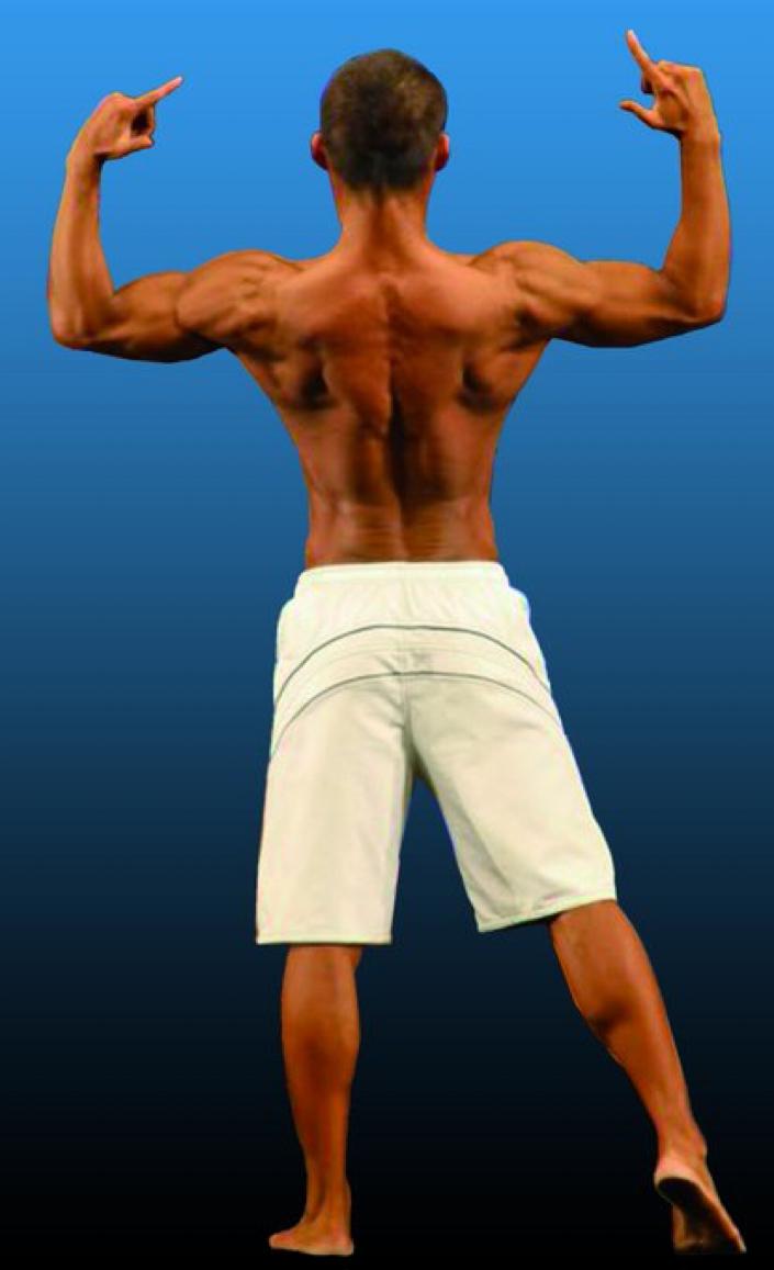 ユーちぇるの画像 背中の筋肉